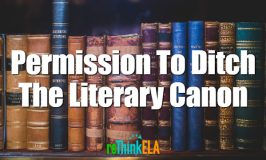 Permission To Ditch The Literary Canon