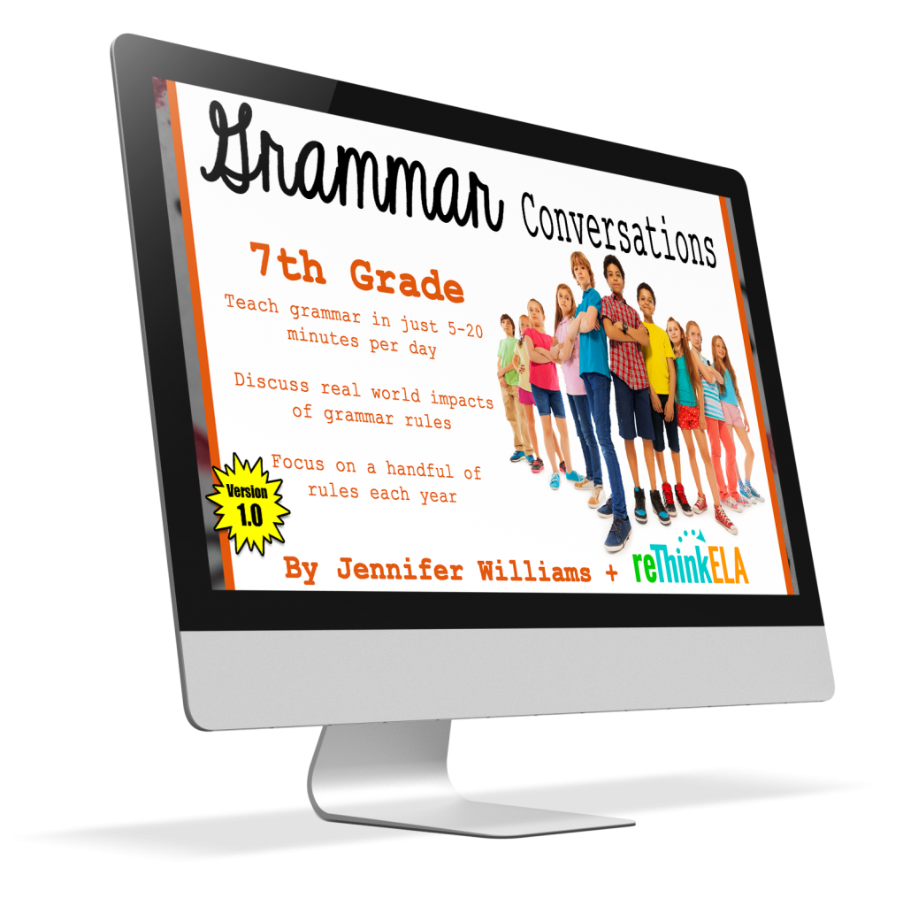 7th Grammar Conversations Cover