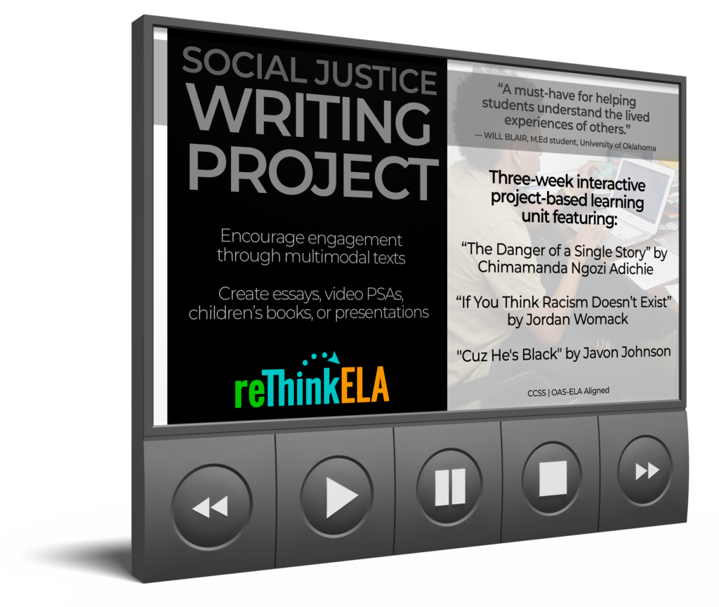 Distance Learning Writing Project