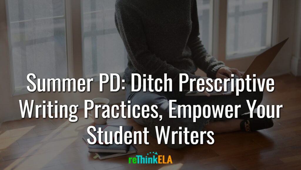 Summer PD Empower Writers
