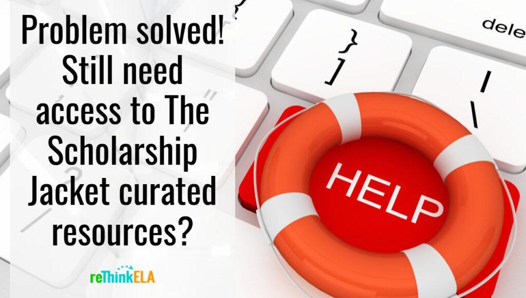 Scholarship Jacket Resources