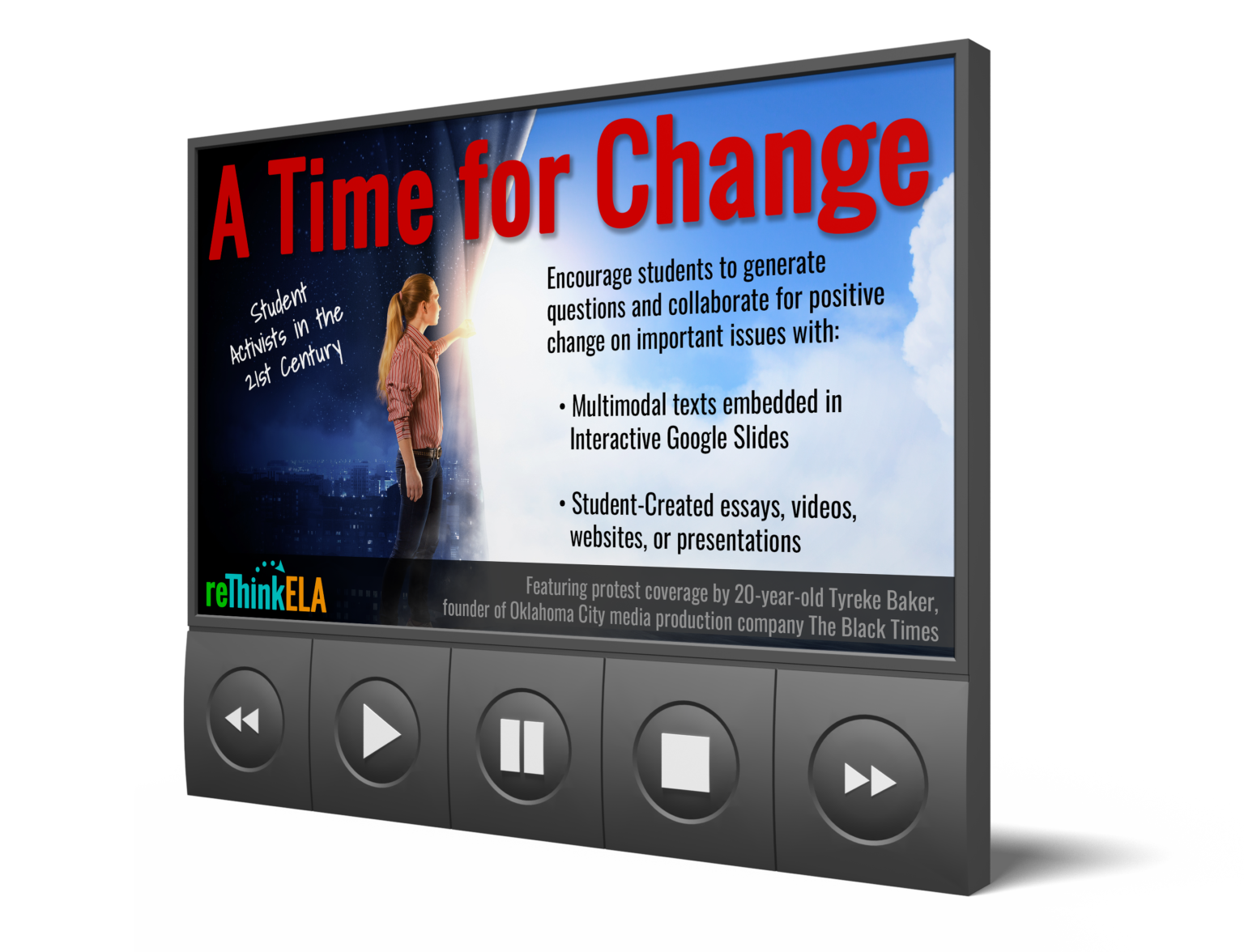 A Time For Change Writing Project