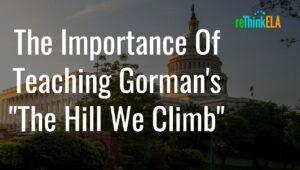 Teach Amanda Gorman Poem