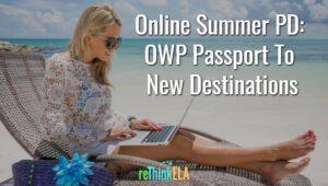 OWP Summer PD